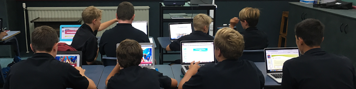 Bring Your Own Device - Our Programmes - About Us  -  Tauranga Boys' College