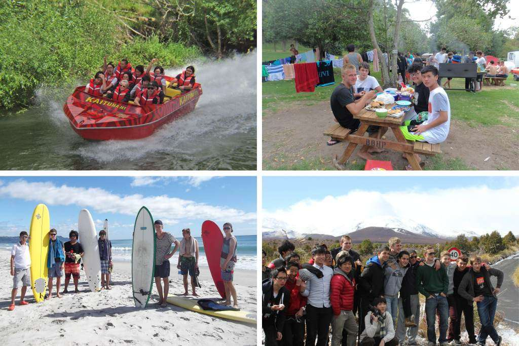 Outdoor Education - Photo | Video Gallery - International  -  Tauranga Boys' College