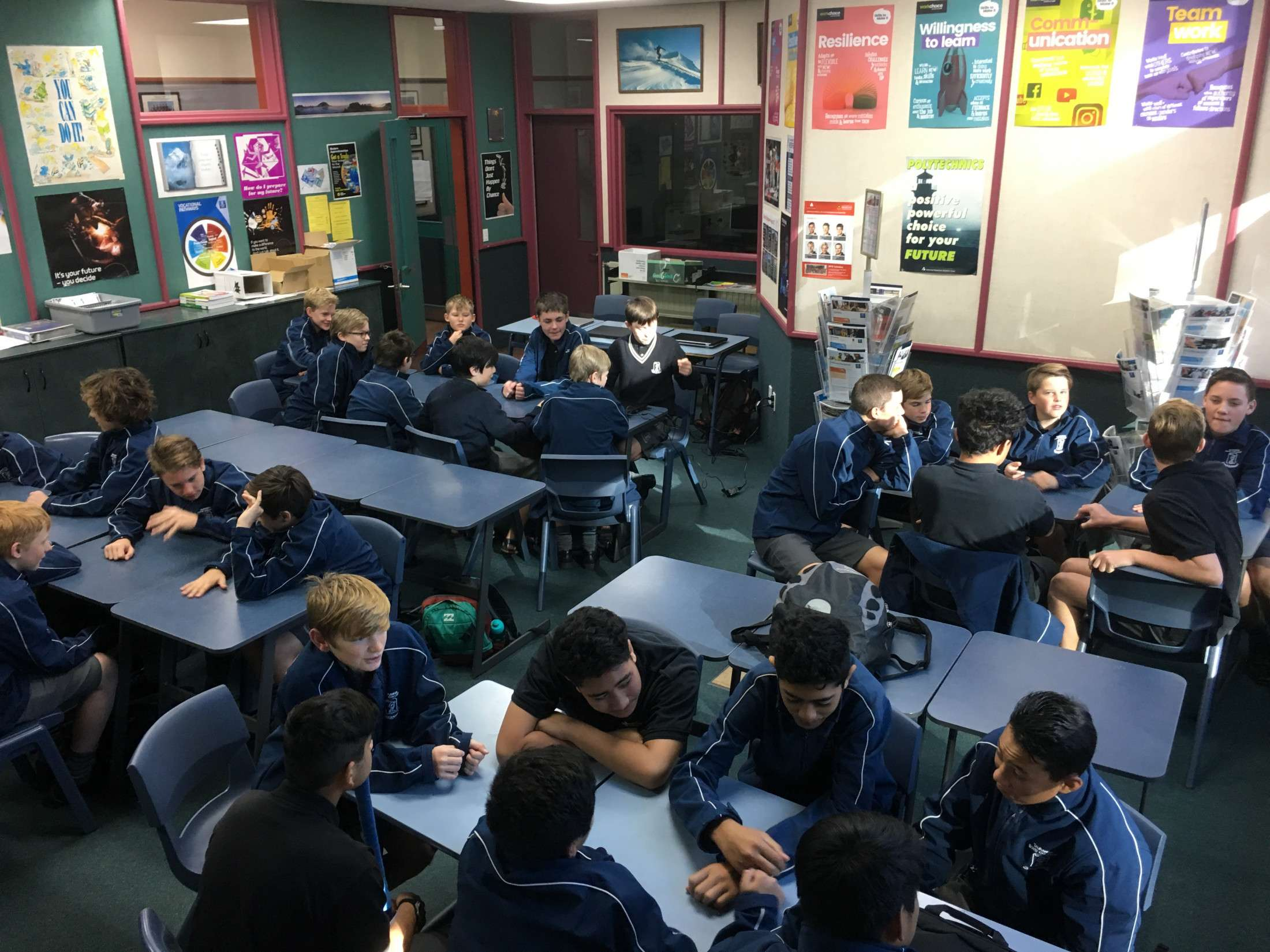 Junior Curriculum - Our Programmes - About Us  -  Tauranga Boys' College