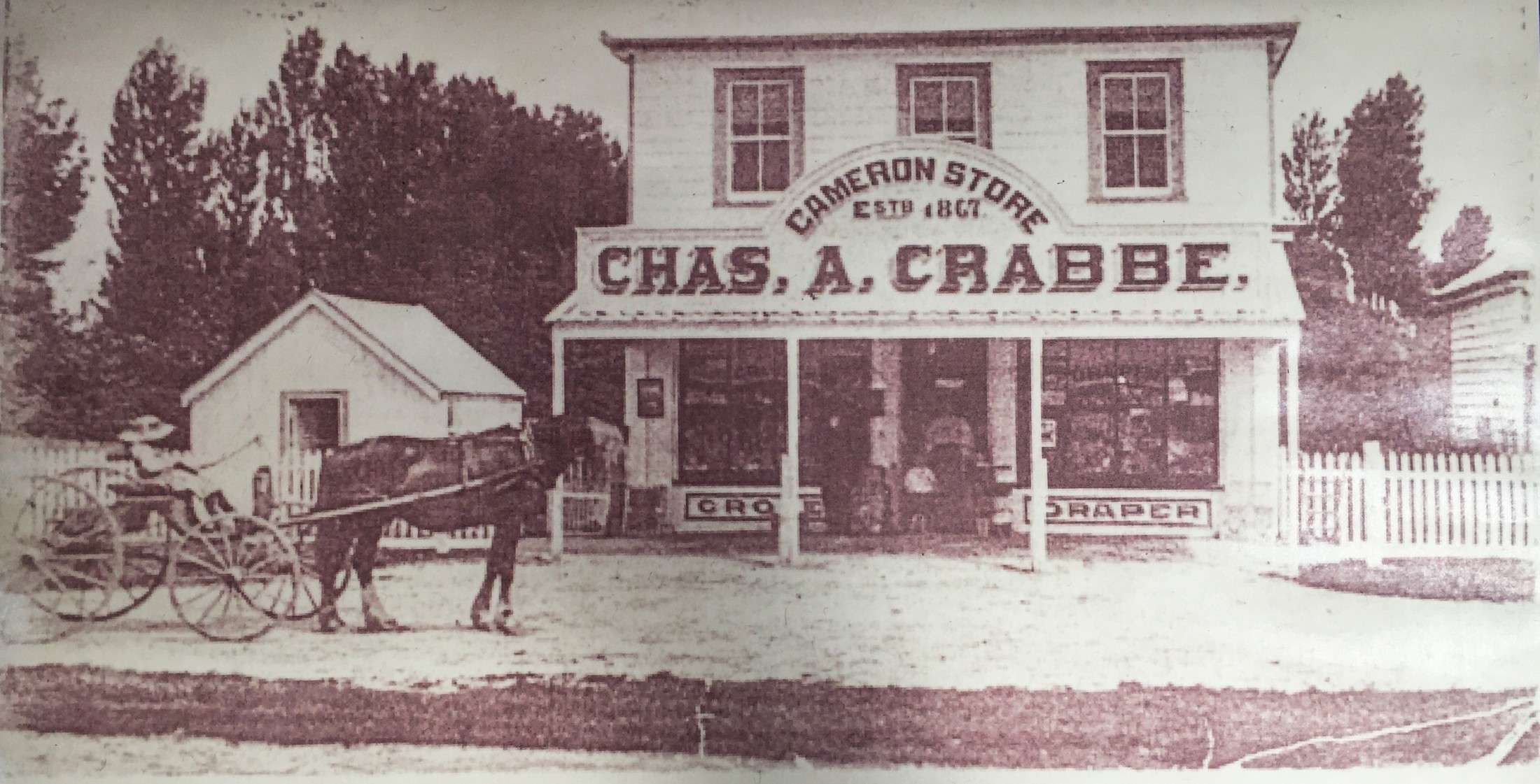 Cameron Store Chas A Crabbe