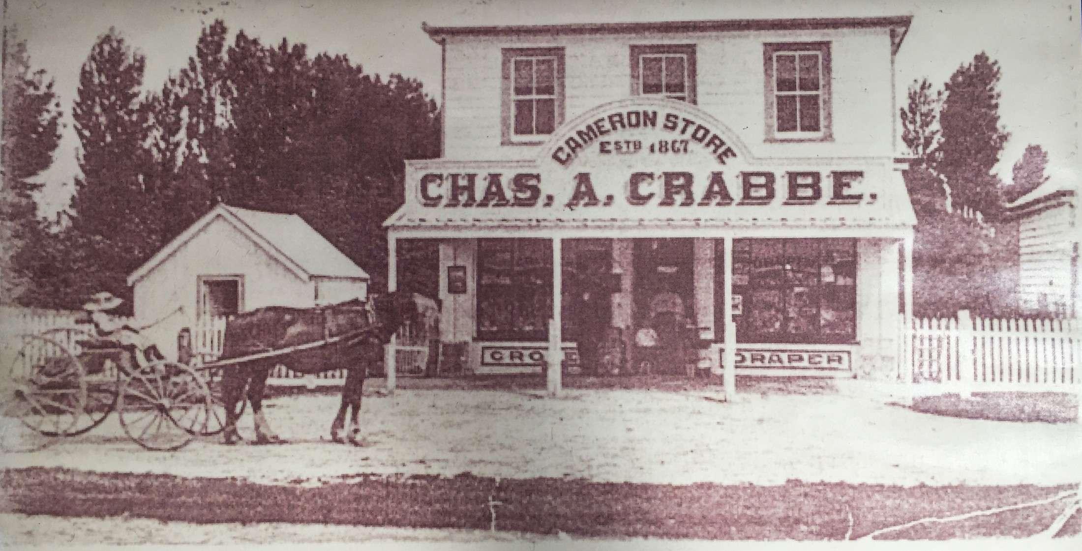 Cameron Store Chas A Crabbe