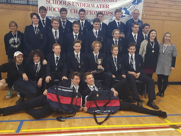 Underwater Hockey - How to get involved - Titan Sports  -  Tauranga Boys' College