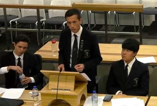 Debating - Public Speaking  -  Tauranga Boys' College