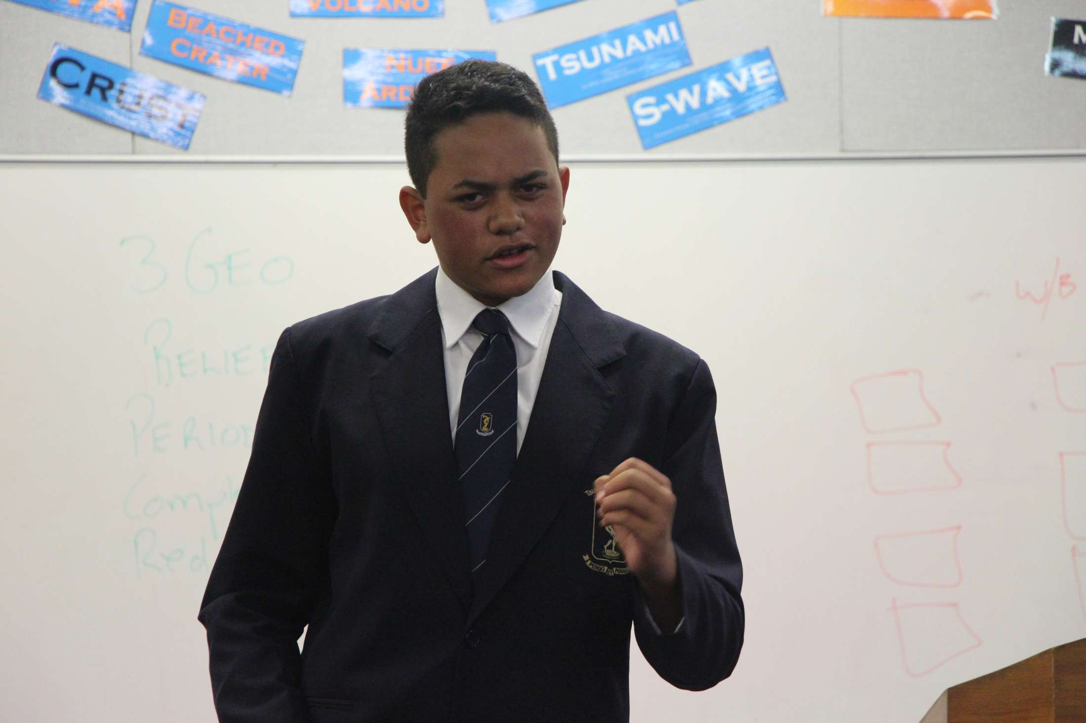 Oratory - Public Speaking  -  Tauranga Boys' College