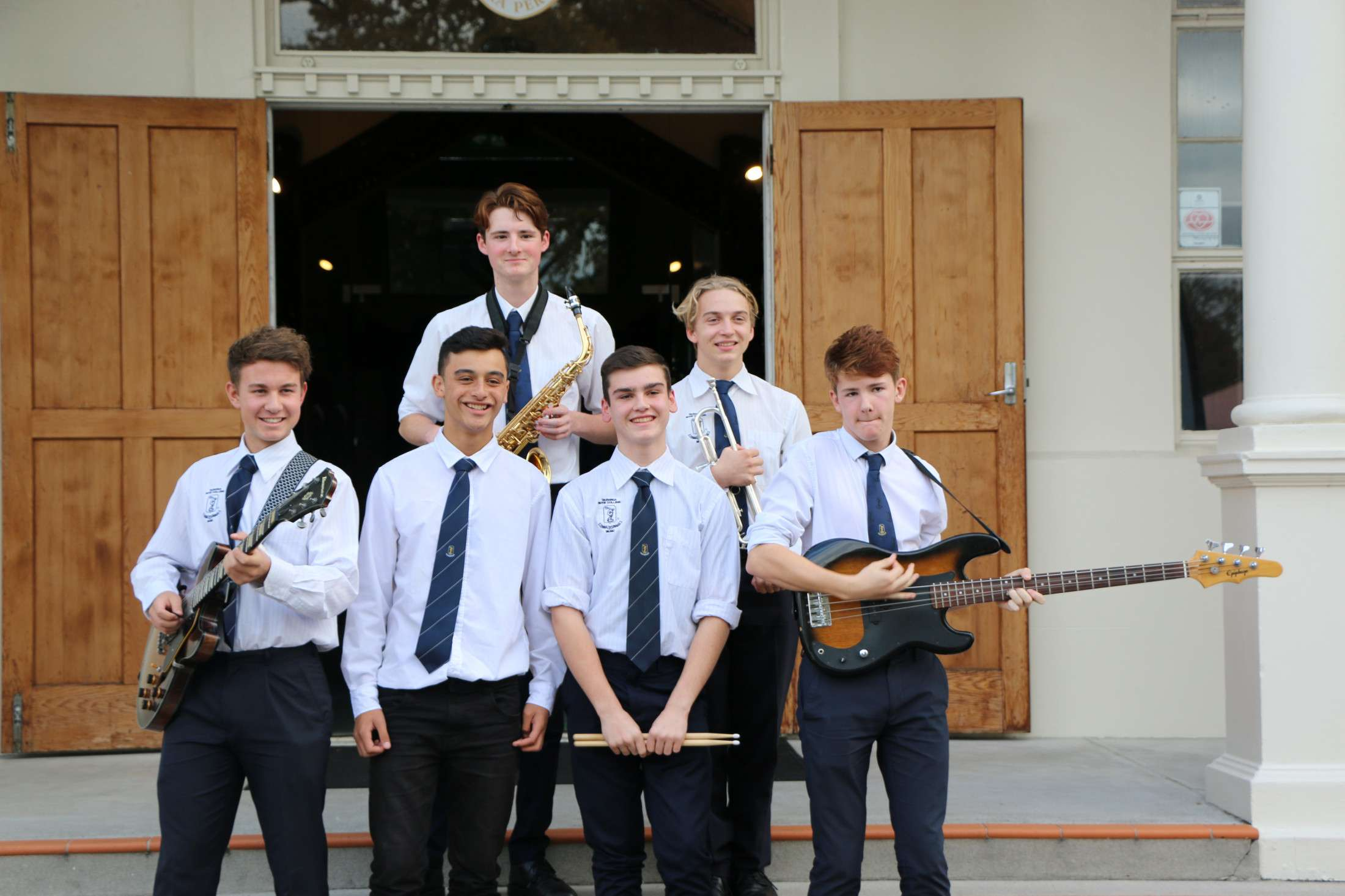 Small music ensembles - Co-curricular Groups  -  Tauranga Boys' College