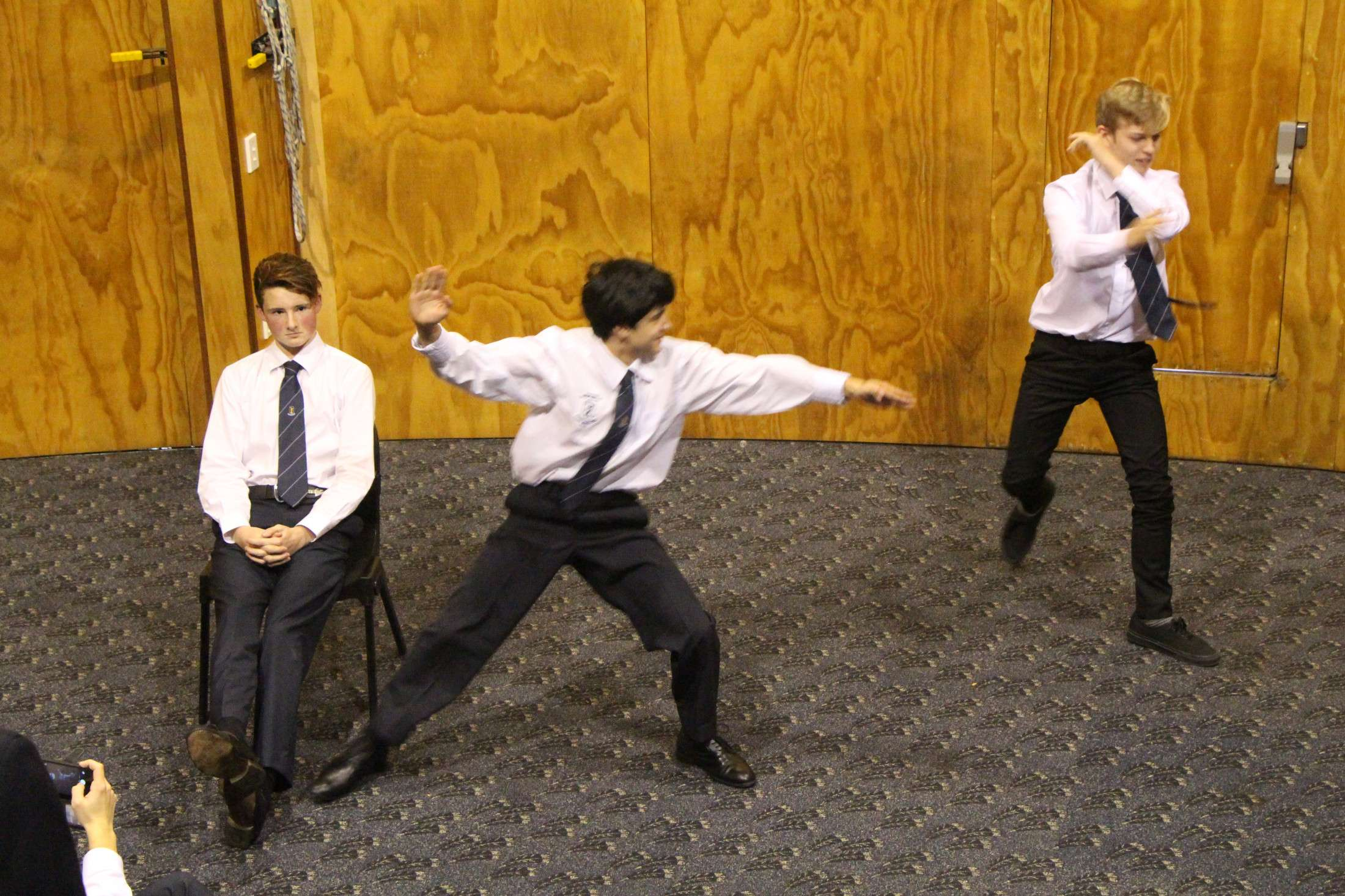 Theatresports - Co-curricular Groups  -  Tauranga Boys' College