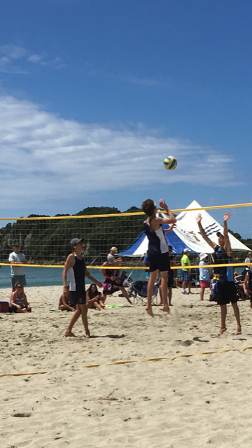 NZSS Beach Volleyball Championships - Sports News - About - Titans Sport  -  Tauranga Boys' College