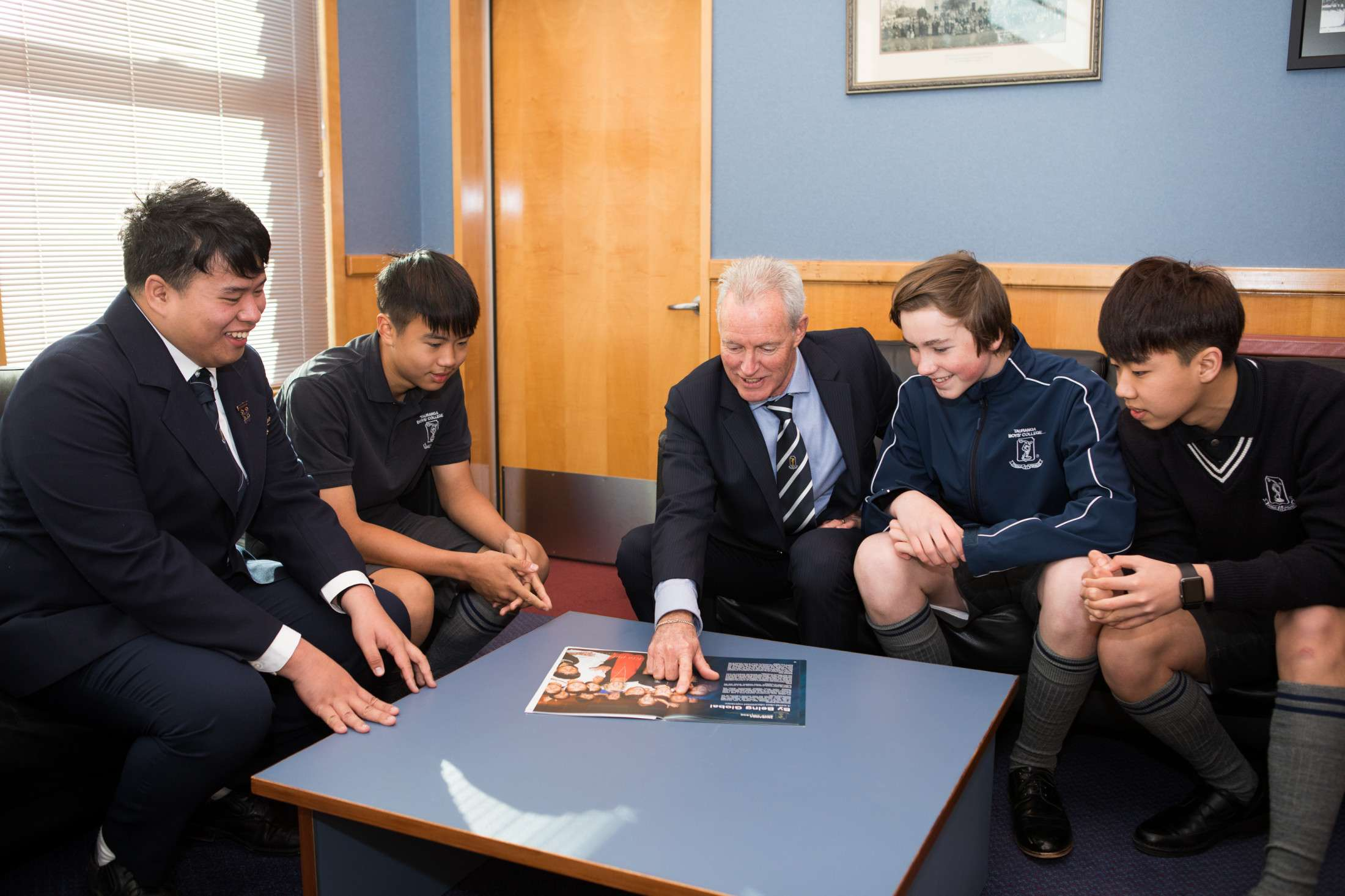 Our Programmes - International  -  Tauranga Boys' College