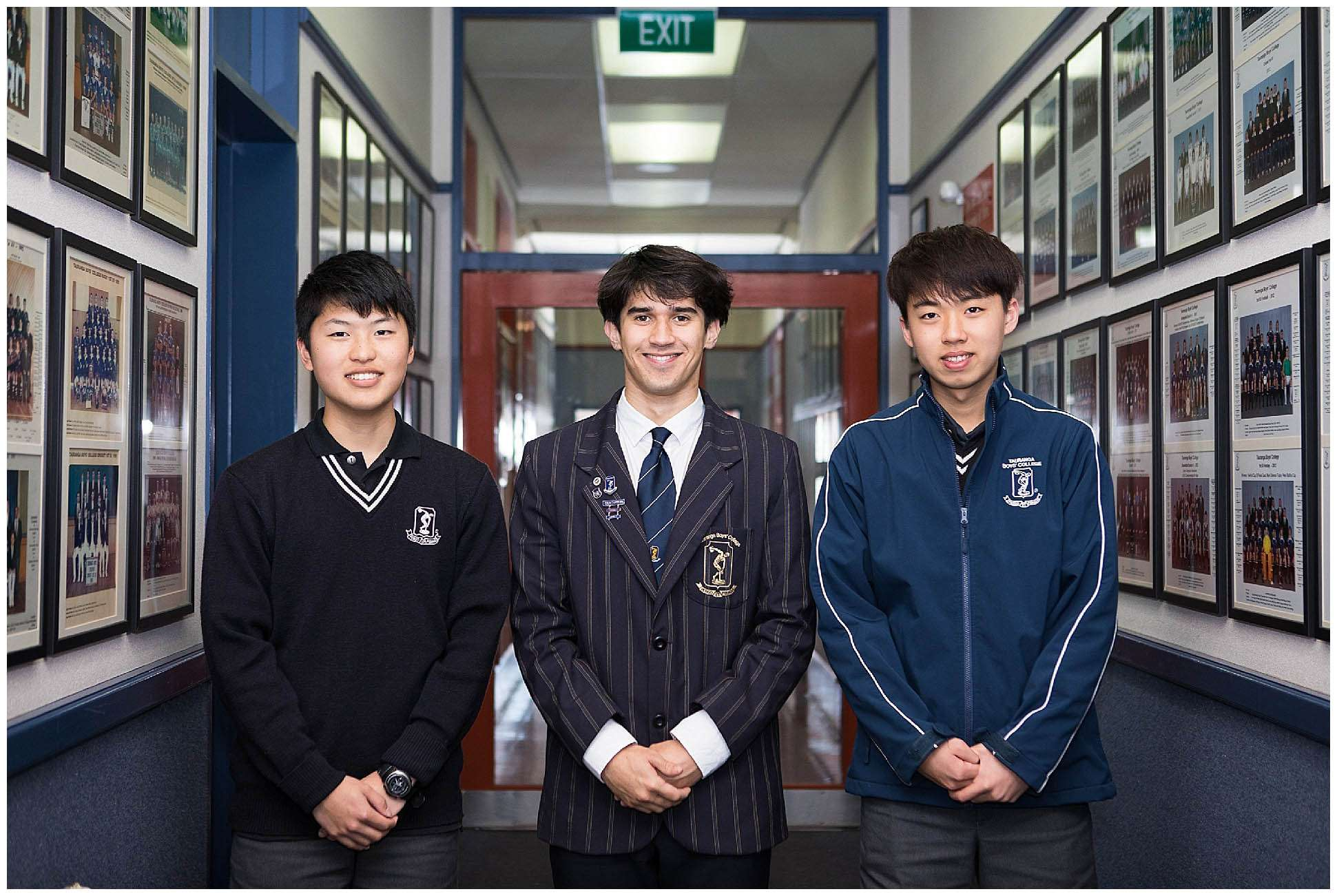 Enrolment - International  -  Tauranga Boys' College