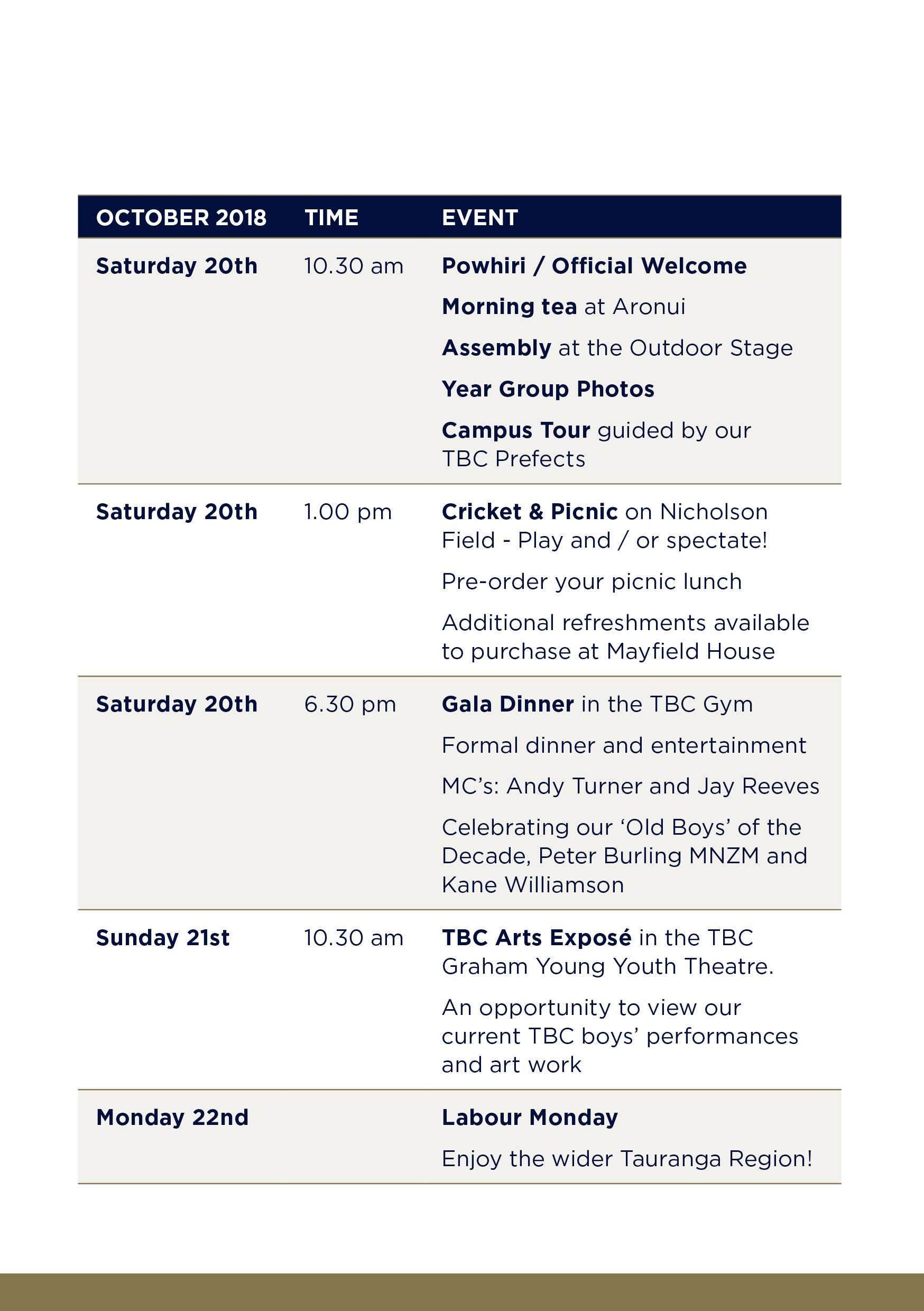 Tbc 60th Jubilee Weekend Prog Booklet Events2