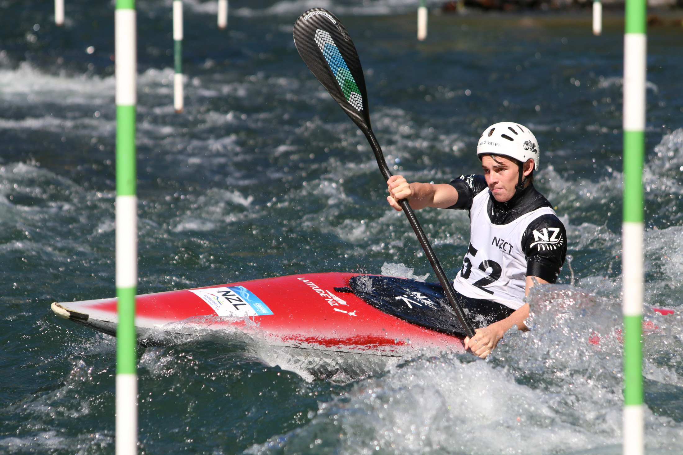 NZSS Canoe Slalom Champs - Sports News  -  Tauranga Boys' College