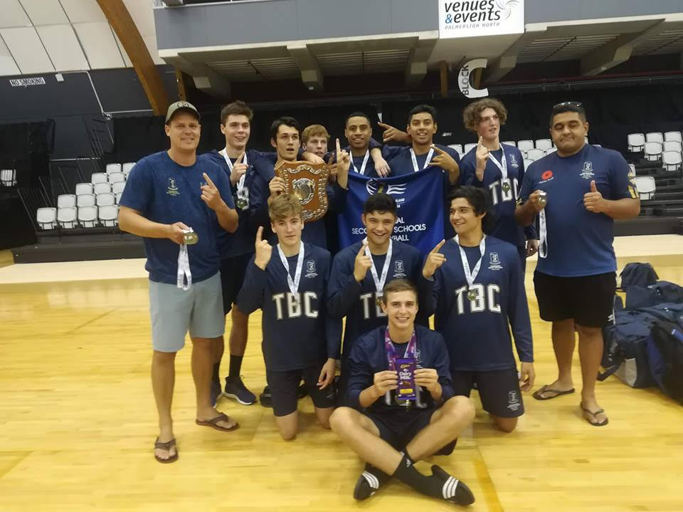 NZSS Volleyball Champs - Sports News  -  Tauranga Boys' College
