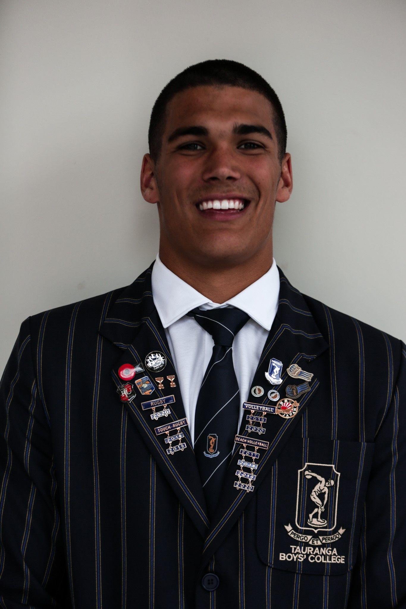 Grady Forbes   Sports Captain