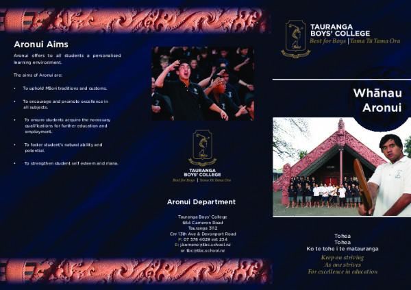 Aronui Brochure